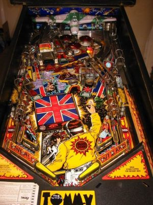 tommy image 2 300x400 - The Who's Tommy Pinball Machine