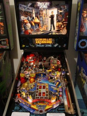 twilight zone image 2 300x399 - Twilight Zone Pinball Machine