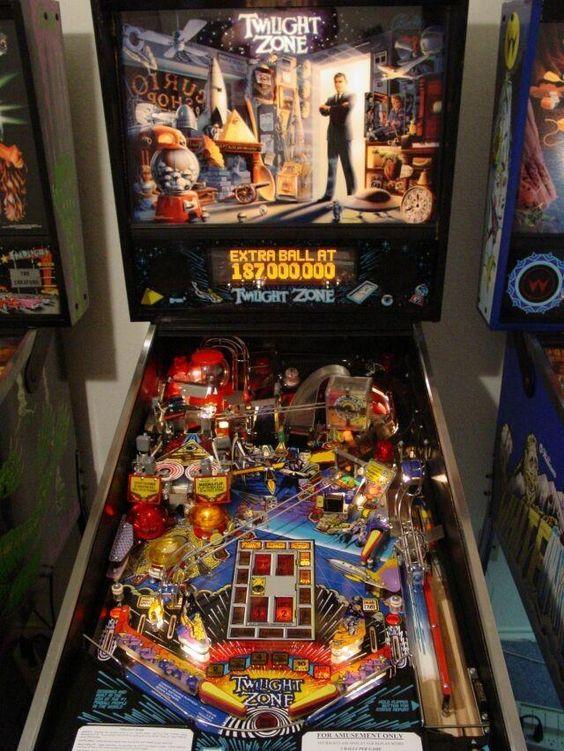 Twilight Zone Pinball Machine by Midway