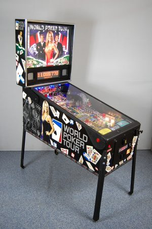 world poker image 1 300x451 - World Poker Tour Pinball Machine
