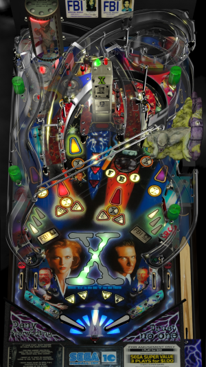 x files image 2 300x533 - X-Files Pinball Machine
