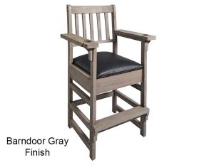BArndoor Gray Finish Spectator Chair Main 300x232 - King Spectator Chair