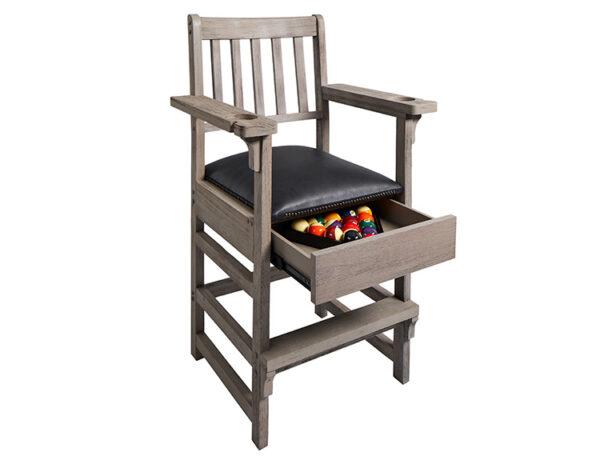 Barndoor Gray Spectator Chair Open