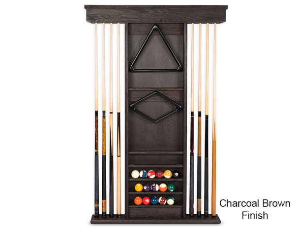 Charcoal Brown Wall Rack