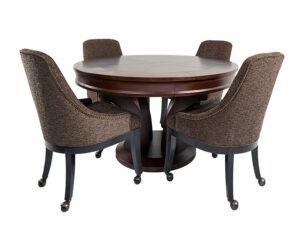 Hamilton Poker Table With Chairs 300x232 - Hamilton Poker Table