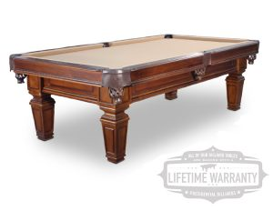 Hartford pool table from Presidential Billiards