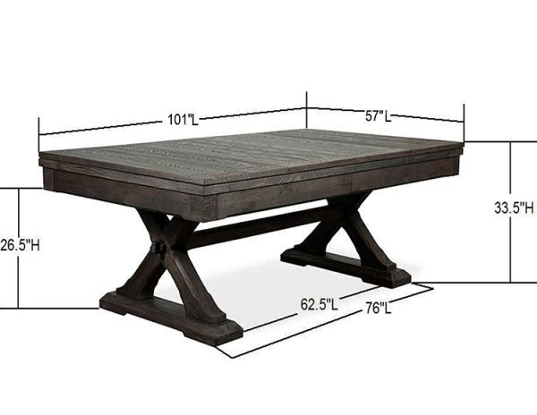 Kairba with Dims 8 Foot table
