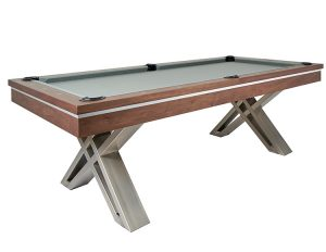 Pierce Pool Table in Walnut 300x232 - Pierce Pool Table