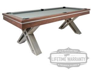 Pierce Pool Table by Presidential Billiards