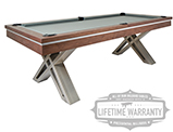 Pierce Pool Table in Walnut Warranty Icon - Pierce Pool Table