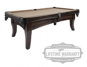 Carter Pool Table by Presidential Billiards