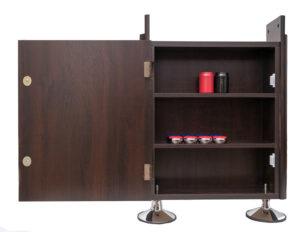 Presidential Shuffleboard Cabinet Open 300x232 - Presidential Shuffleboard