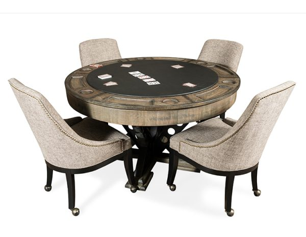 Vienna Poker table and Chairs