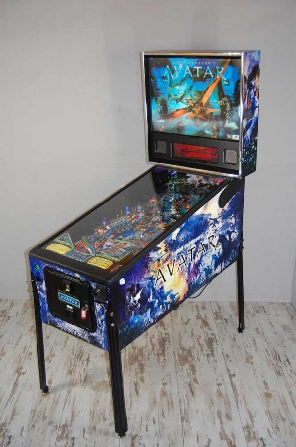 Avatar Pinball Machine by Stern