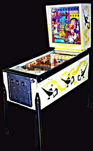Bazaar Pinball Cover1 300x486 - Bazaar Pinball Machine