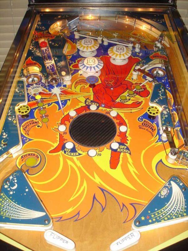Fireball Pinball Machine by Bally
