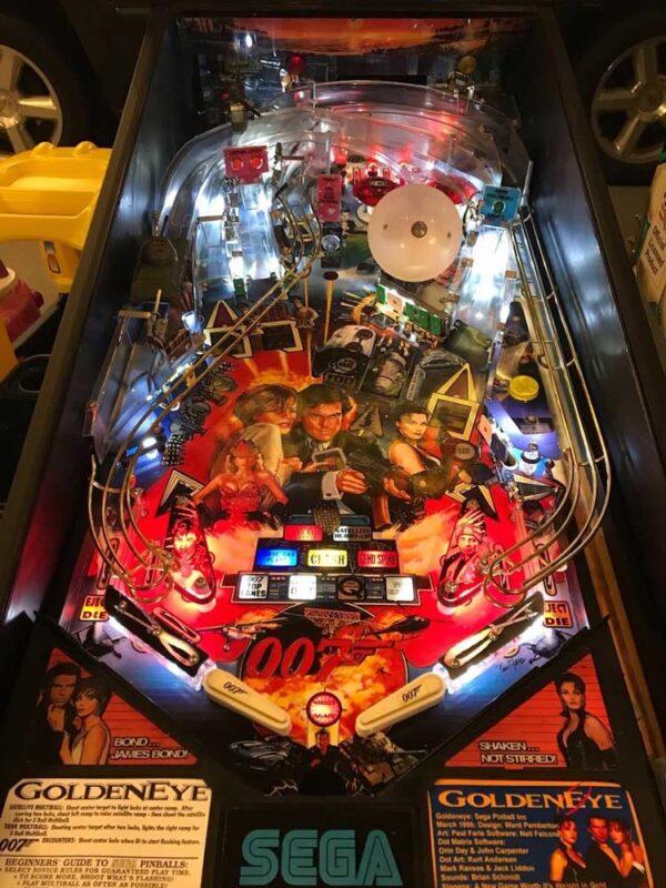007 Goldeneye Pinball Machine Playfield