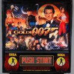 007 Goldeneye Pinball Machine Backglass