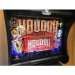 Houdini Pinball Machine Backglass