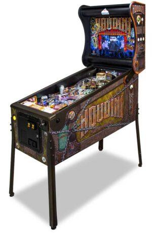 """Houdini Pinball Cover1 300x458 - Houdini """"Master of Mystery"""" Pinball Machine"""