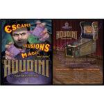 Houdini Pinball Machine Flyer