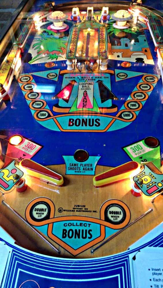 Jubilee Pinball Machine by Williams | Elite Home Gamerooms