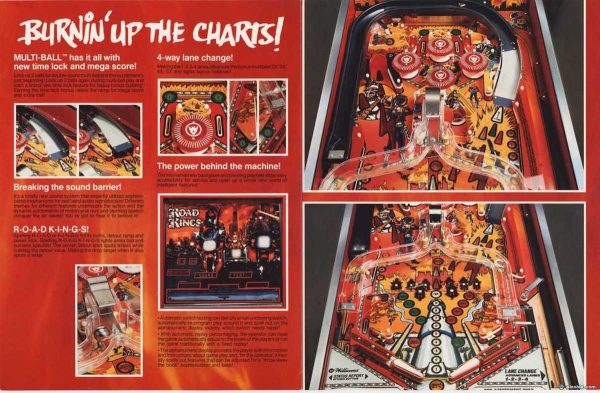 Road Kings Pinball Machine Flyer1