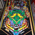 Silver Slugger Pinball Machine Playfield