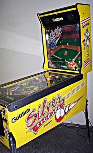Silver Slugger Pinball Cover1 300x491 - Silver Slugger Pinball Machine
