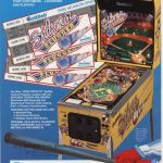 Silver Slugger Pinball Machine Flyer