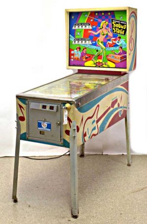 Sound Stage Pinball Cover1 300x457 - Sound Stage Pinball Machine