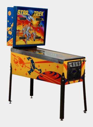 Star Trek Pinball Bally Cover1 300x408 - Star Trek Pinball Machine by Bally