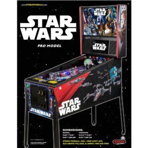 Star Wars Pro Pinball Flyer