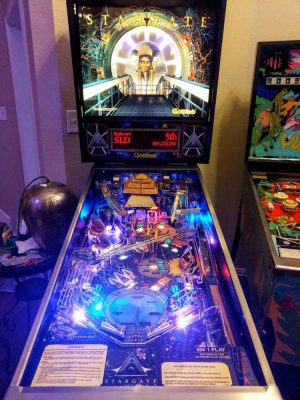 Stargate Pinball Machine by Gottlieb
