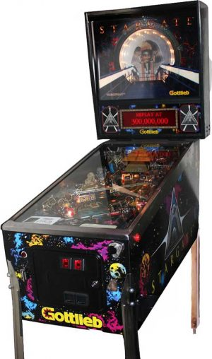 Stargate Pinball Cover1 300x508 - Stargate Pinball Machine