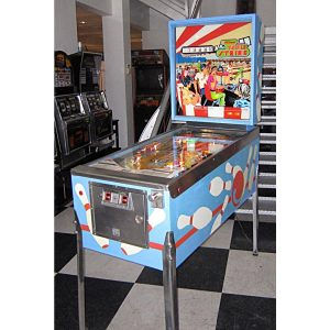 Triple Strike Pinball Machine