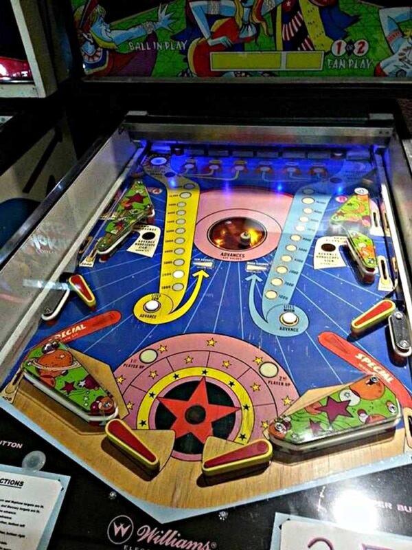Zodiac Pinball Machine Playfield
