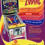 Zodiac Pinball Machine Flyer