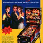 007 Goldeneye Pinball Machine Flyer