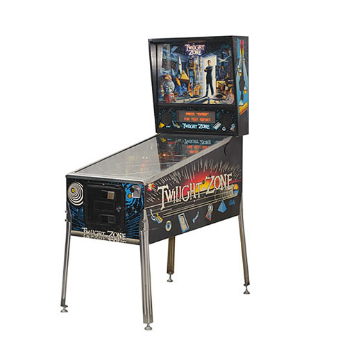 twillight zone pinball - Arcade Game Services