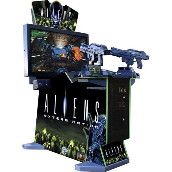 Aliens Extermination Arcade Cover
