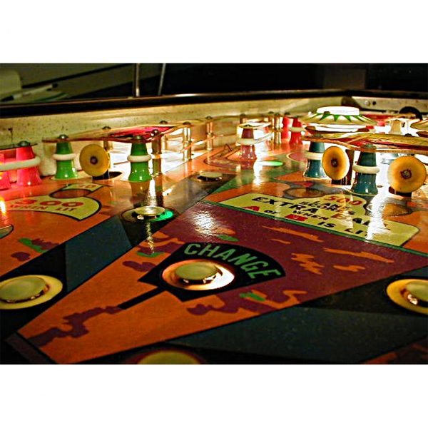 Casanova Pinball Machine by Williams Electronics