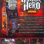 Guitar Hero Arcade Flyer