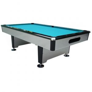 Silver Shadow Pool Table