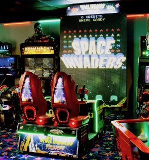 Space Invaders Frenzy Arcade 1 300x321 - Space Invaders Frenzy