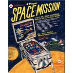 Space Mission Pinball Flyer
