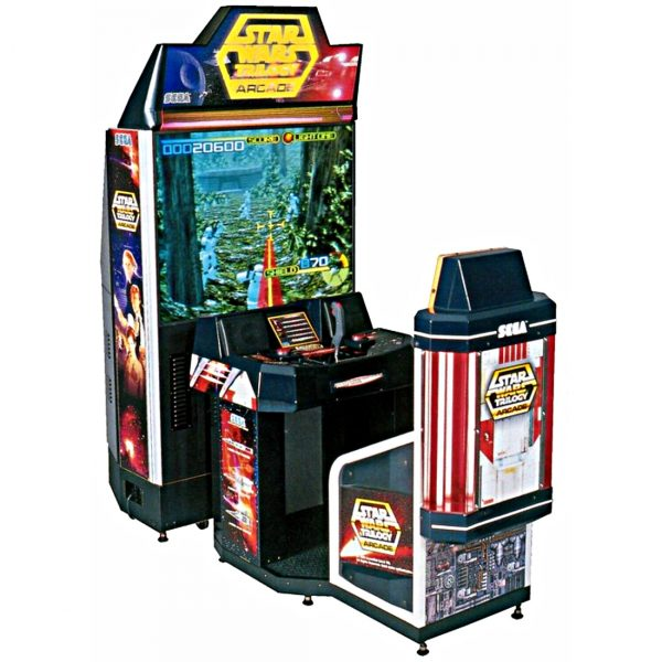 Star Wars Trilogy Arcade Cover