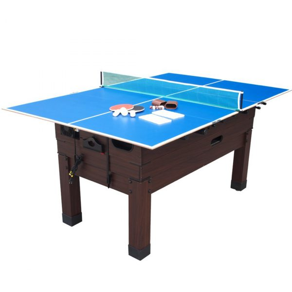 13 in 1 Combination Game Table Espresso 4