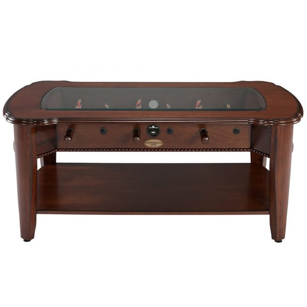 2 in 1 Foosball & Coffee Table Antique Walnut 3