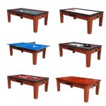 6 in 1 Game Table Cherry Cover
